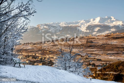 istock Viewpoint on the hill in Sion, Switzerland 452017645