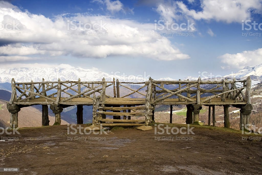 Viewpoint royalty-free stock photo