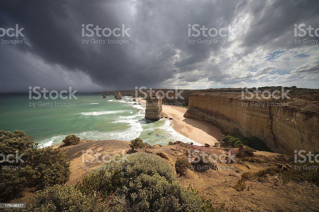 Viewpoint to 12 Apostles royalty-free stock photo
