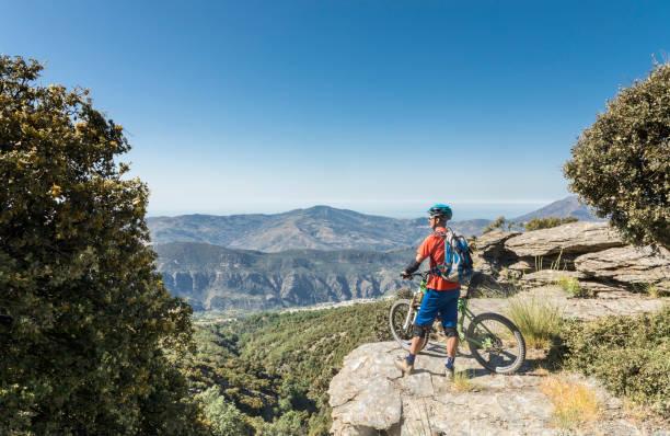Sicht auf das Meer, andalusischen Sierra Nevada, Spanien. – Foto