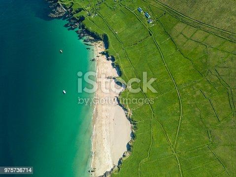 istock Views along the Wild Atlantic Way, Dingle Peninsula, Blasket Islands, Co. Kerry, Ireland. 975736714