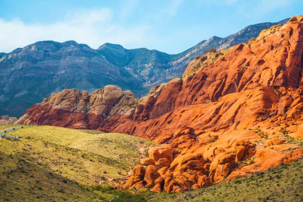 Aussicht vom Red Rock Canyon, Nevada – Foto