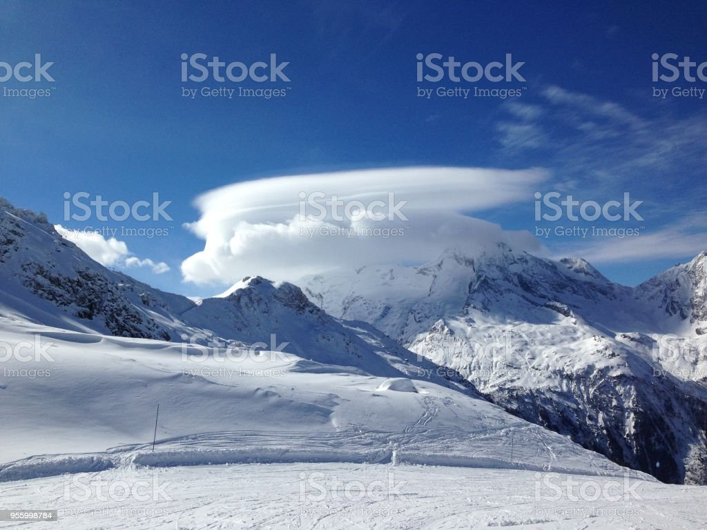Views from Sainte Foy, France stock photo