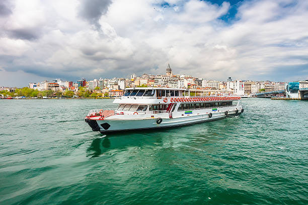 Views of Istanbul and the Bosphorus with the ship