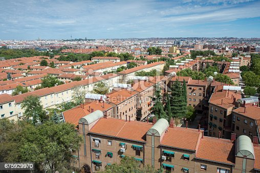 istock Views of Madrid City, Spain, from Carabanchel district 675929970