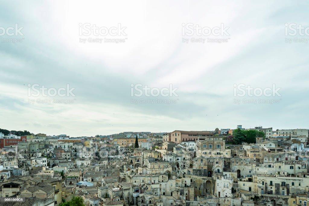views of Matera city - Royalty-free Ancient Stock Photo