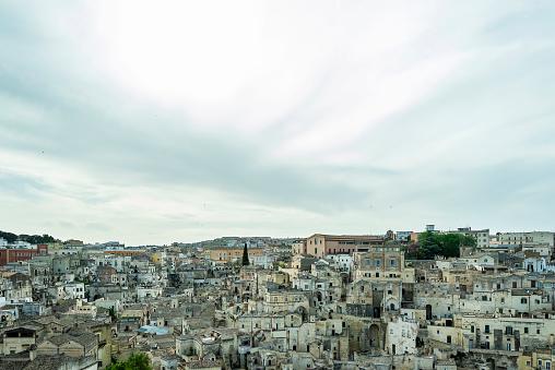 Uitzicht Op De Stad Matera Stockfoto en meer beelden van Antiek - Toestand