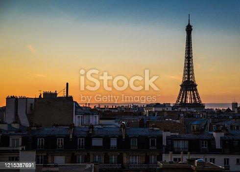 Views of Paris from the roofs