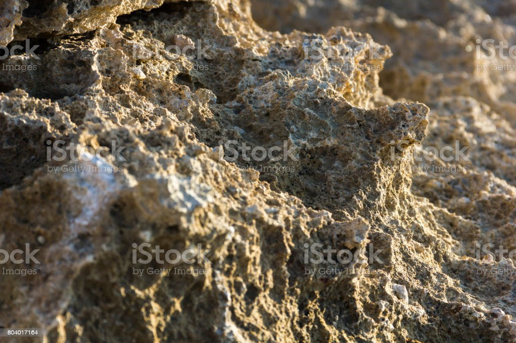 Views of Rock in the Serra de Tramuntana, in North Mallorca / Majorca stock photo