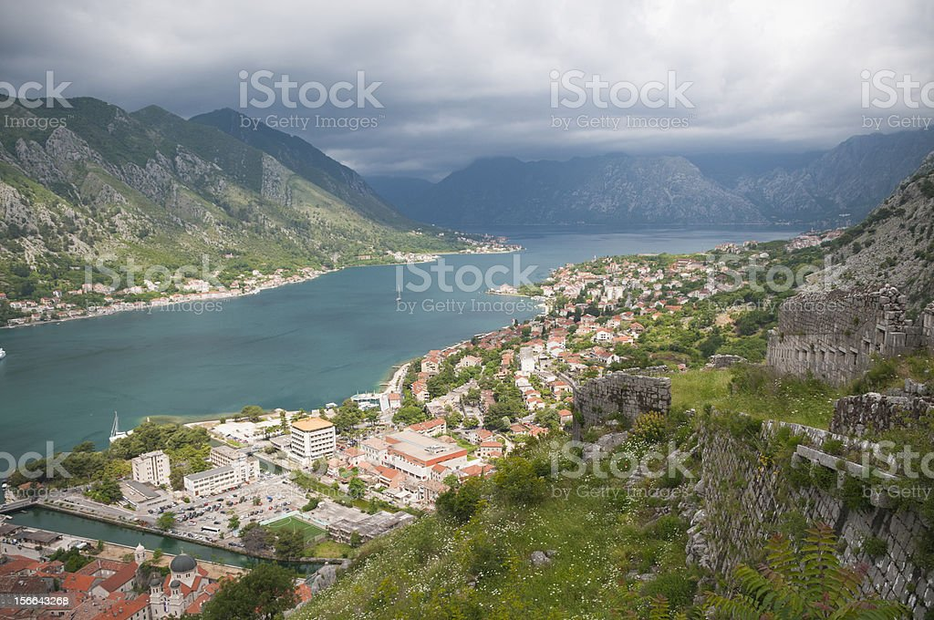views of the bay royalty-free stock photo