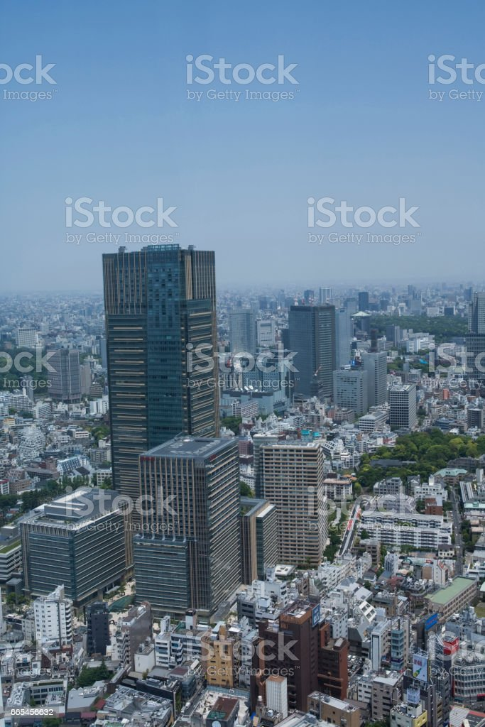 Views of the city stock photo