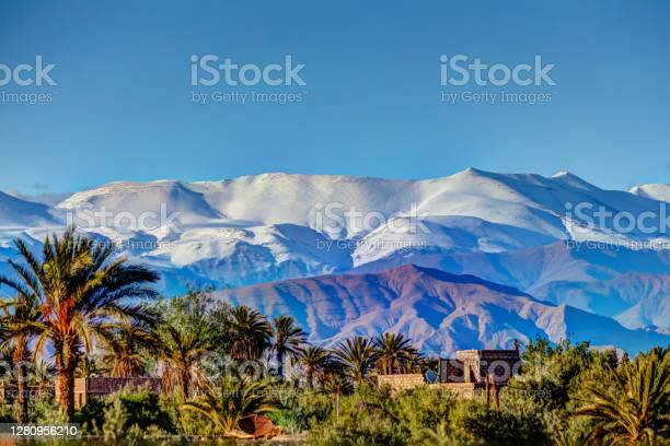 Photo of Views of the High Atlas Mountains from Skoura Morocco