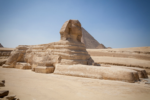 Views Of The Sphinx At Cairo Giza Egypt
