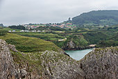 istock Views of the town of Prellezo in Cantabria from the coast 1267149541