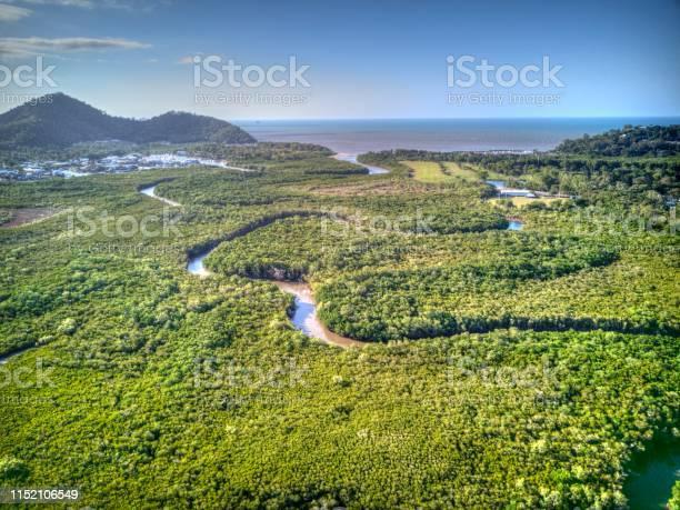 Blick Über Yorkeys Knob Queensland Stockfoto und mehr Bilder von Antenne