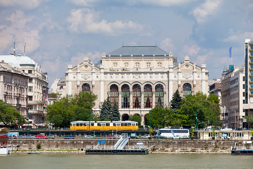 Vigadó Concert Hall In Budapest Stock Photo - Download Image Now