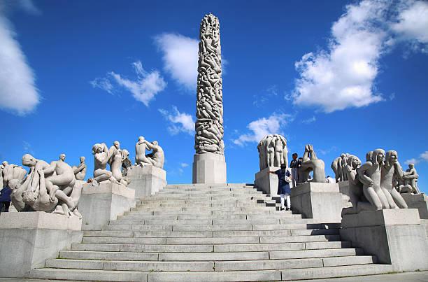 Vigeland Park in Oslo, Norway – Foto