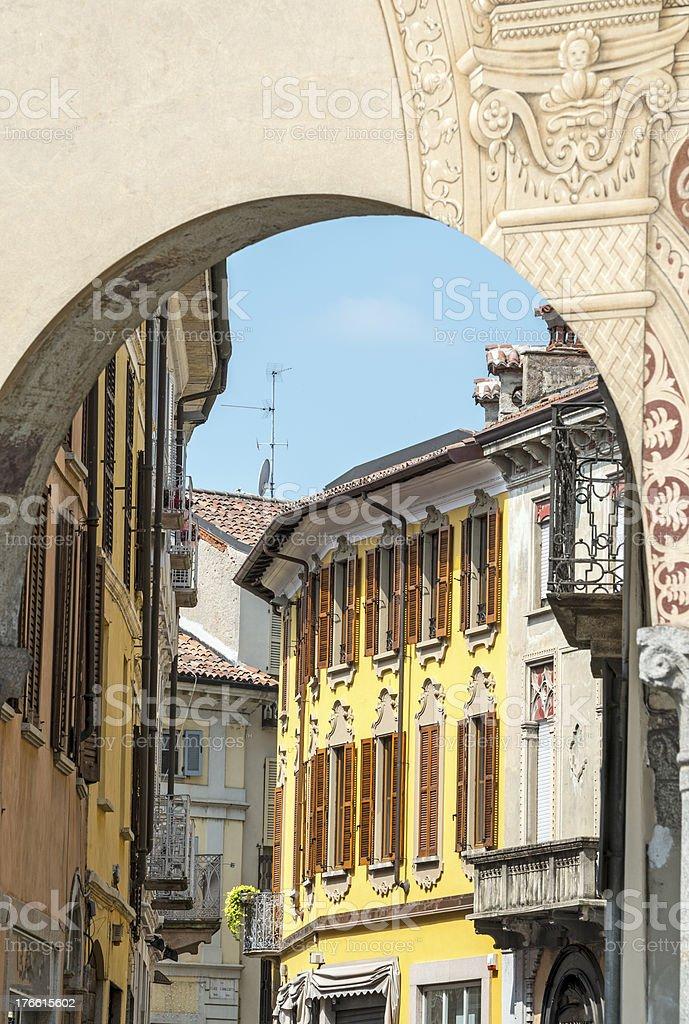 Vigevano (Italy) stock photo