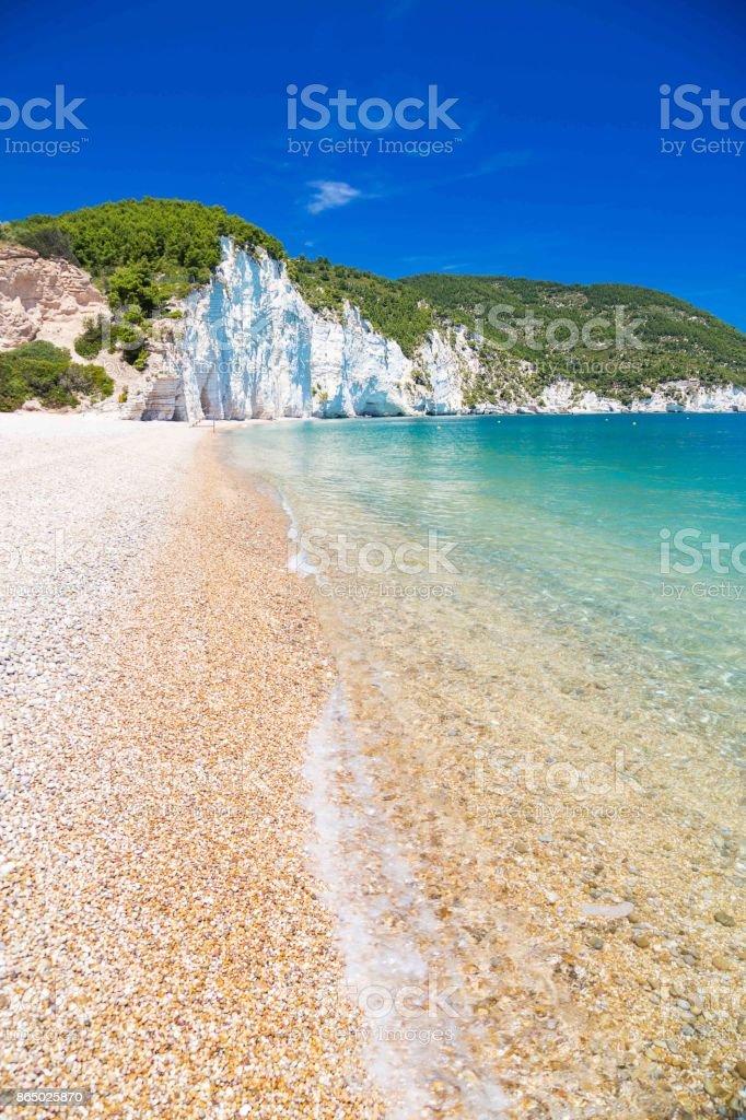 Vignanotica beach, Apulia, Italy stock photo