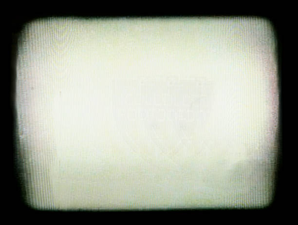 tv vignette border - vignet etkisi stok fotoğraflar ve resimler