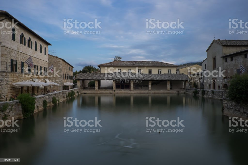 Bagno Vignoni stock photo