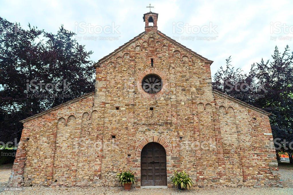 Viguzzolo, church stock photo