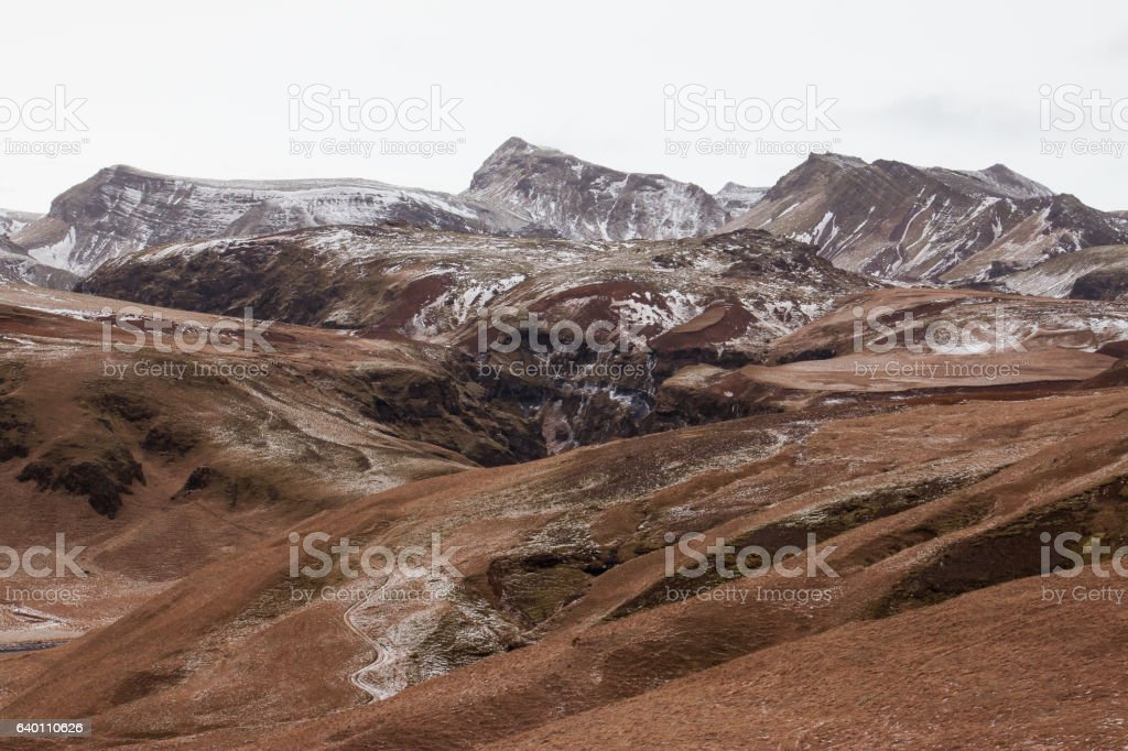Vik, Iceland stock photo