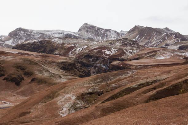 Vik, Iceland stock photo