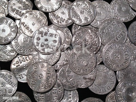 istock Viking And Anglo Saxon Silver Coin Hoard 498552859