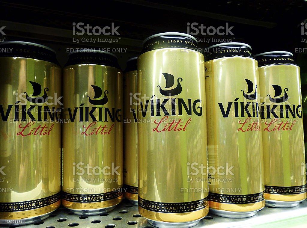 Viking beer royalty-free stock photo