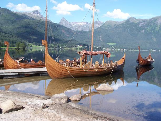 Viking Boat Norway Viking boat oslo stock pictures, royalty-free photos & images