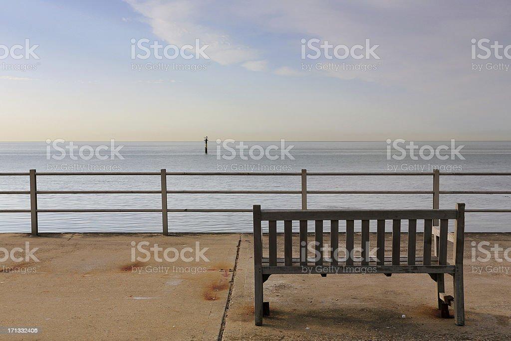 Viking Coastal Trail, Margate, England royalty-free stock photo