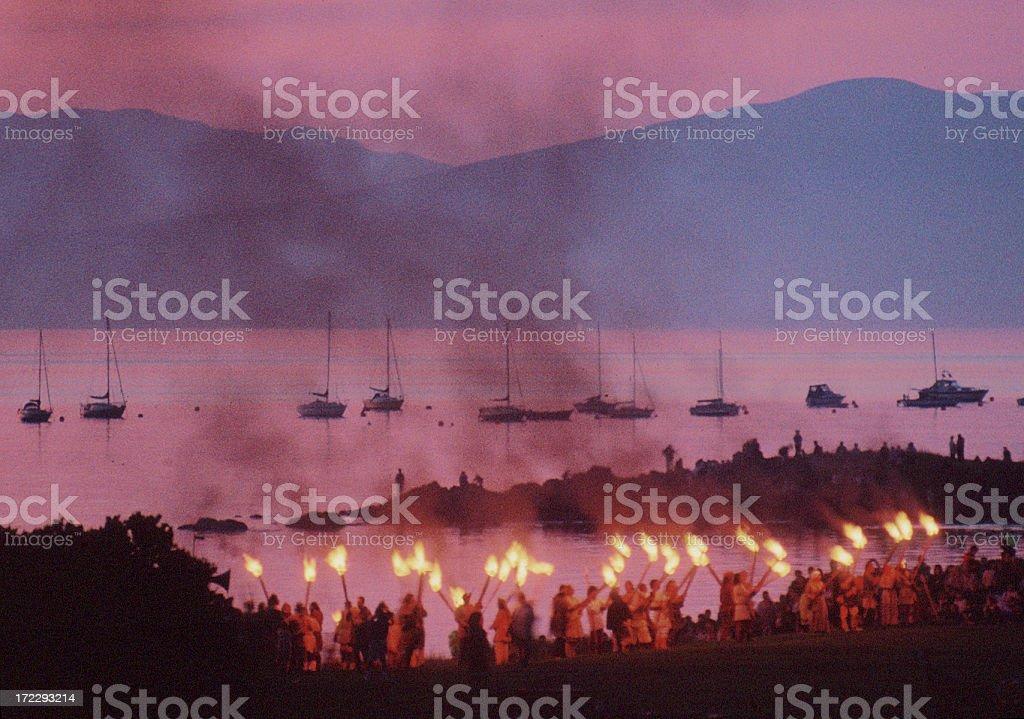 Viking Festival stock photo