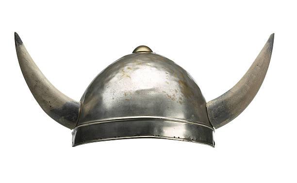 Viking Bonnet avec grandes cornes - Photo