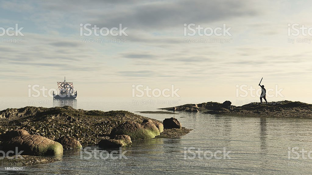 Viking Longship Homecoming - foto de stock
