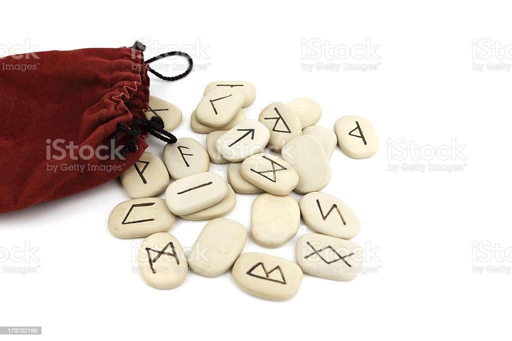 Viking Runes stock photo
