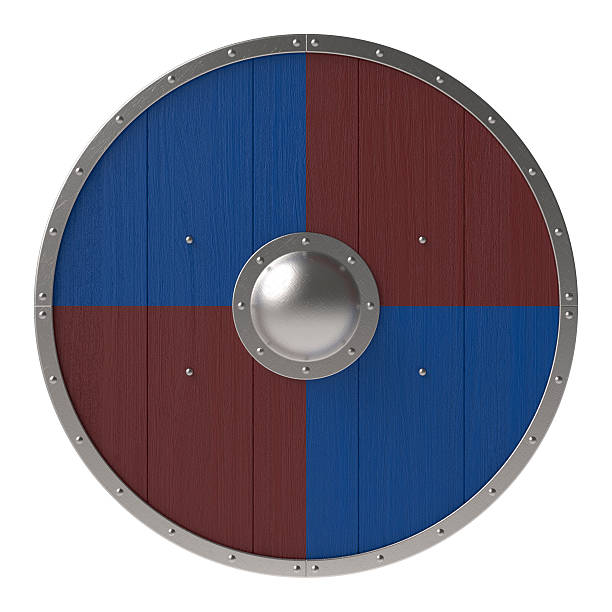Viking Shield Stock Photo