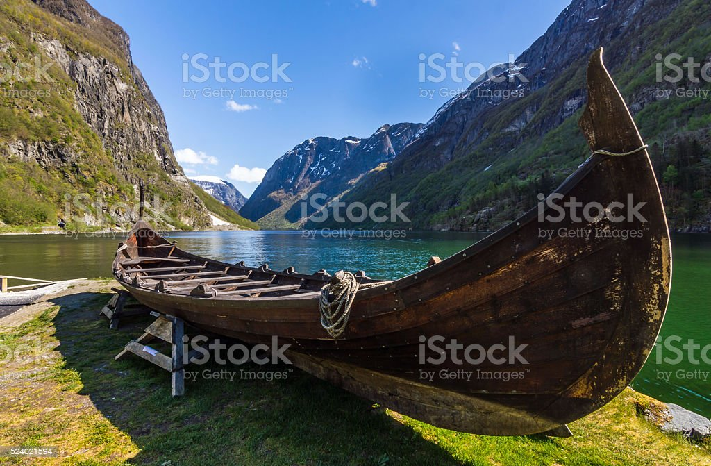 Viking Ship stock photo