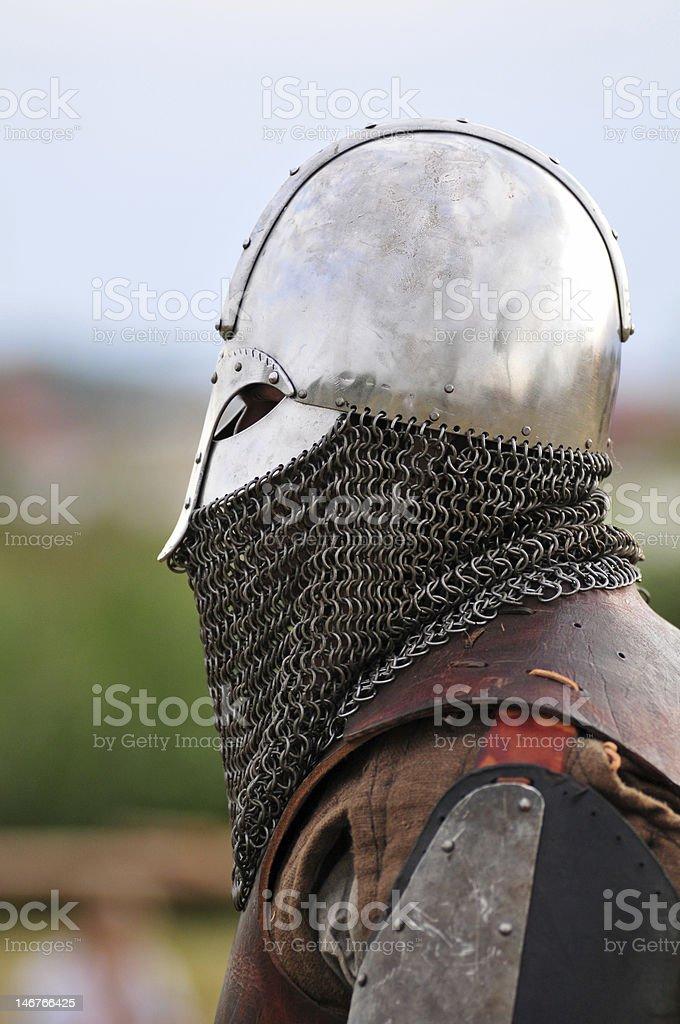 Viking warrior. royalty-free stock photo