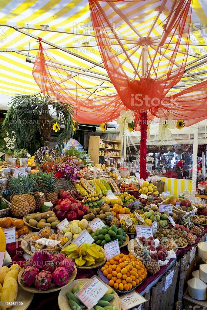 Viktualienmarkt Munich, Germany stock photo
