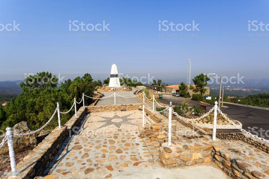 Vila de Rei – Geodetic Center of Portugal stock photo