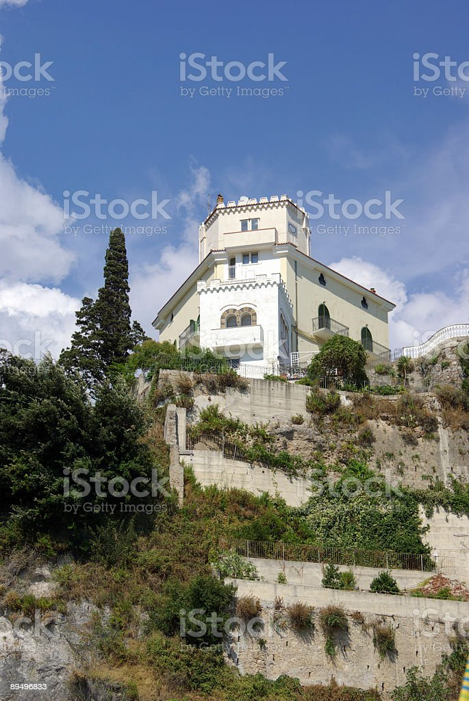 villa al mare royalty free stockfoto