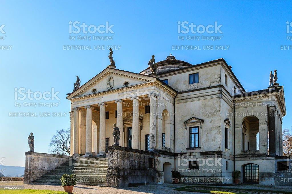Villa Almerico Capra - La Rotonda, Vicenza stock photo