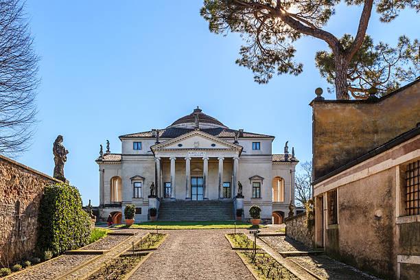 villa almerico capra-la rotonda, vicenza - vicenza stock-fotos und bilder