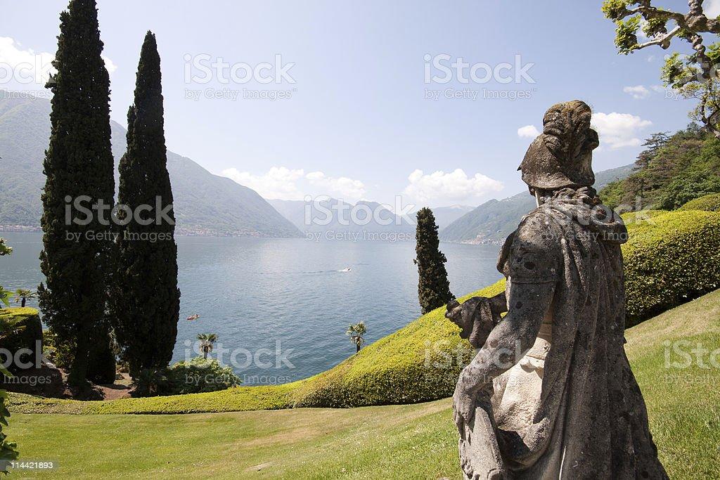 villa Balbianello royalty-free stock photo