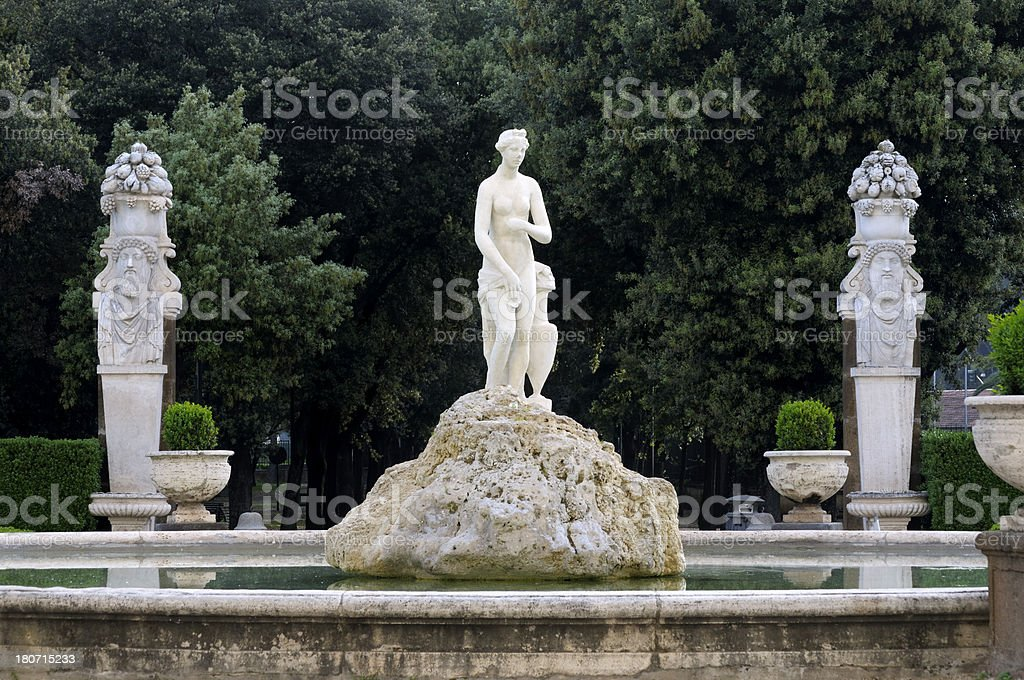 Villa Borghese - Rome stock photo