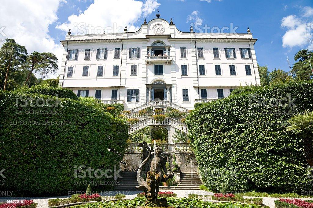 Villa Carlotta, Como Lake, Italy stock photo