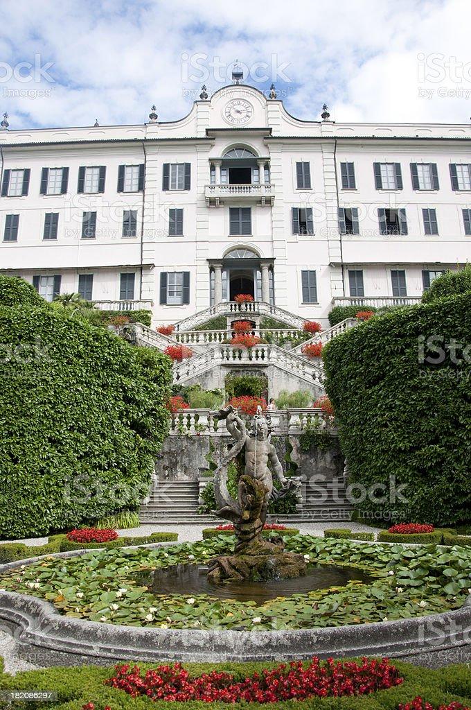 Villa Carlotta, Italy stock photo