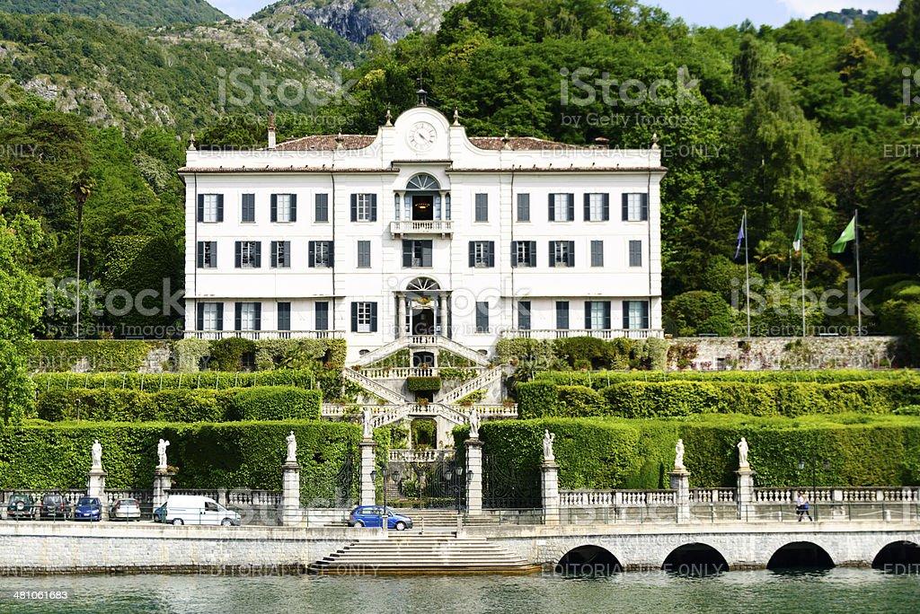 Villa Carlotta on the Lake Como, Italy -XXXL stock photo