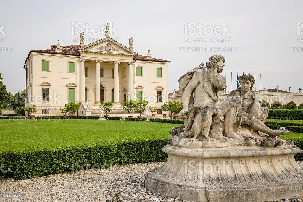 Villa Cordellina Lombardi, built in 18th century. stock photo